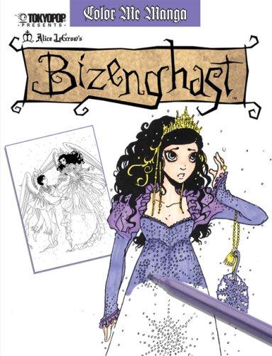 Color Me Manga By M. Alice LeGrow