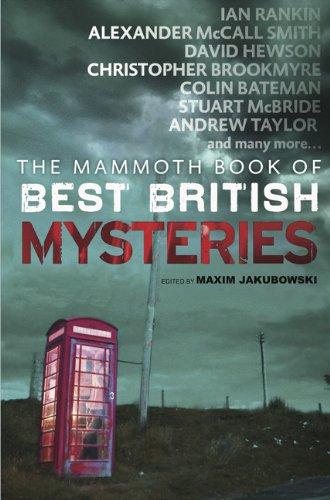 Mammoth Book of Best British Mysteries 8 By Maxim Jakubowski