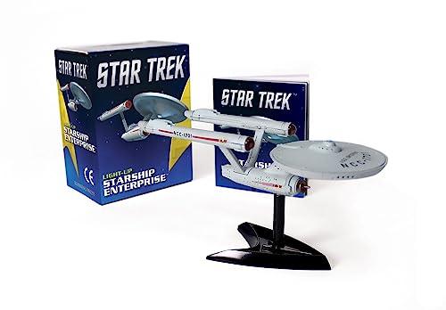 Star Trek: Light-Up Starship Enterprise (Miniature Editions) By Chip Carter