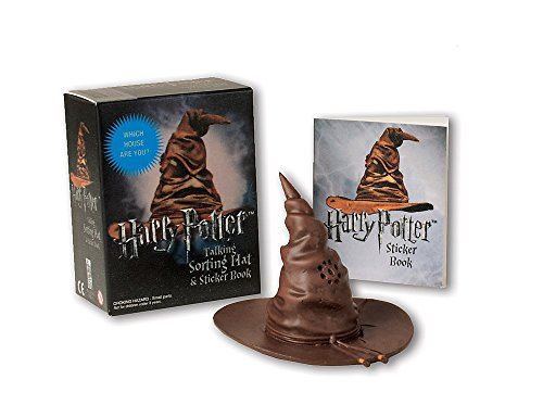 Harry Potter Talking Sorting Hat and Sticker Book: Which House Are You? (Miniature Editions) By Running Press