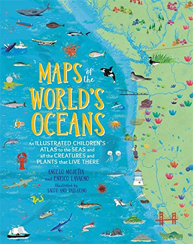 Maps of the World's Oceans By Angelo Mojetta