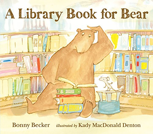 A Library Book for Bear By Becker Bonny