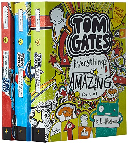 Tom Gates That's Me! (Books One, Two, Three) von L Pichon