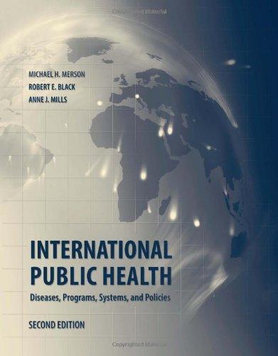International Public Health By Michael Merson