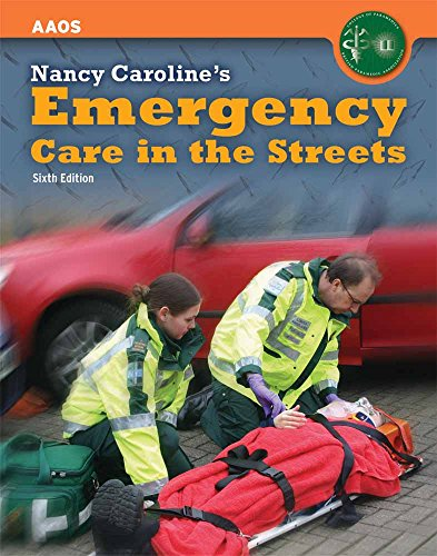 United Kingdom Edition - Nancy Caroline's Emergency Care In The Streets By BRITISH PARAMED