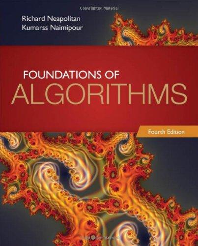 Foundations of Algorithms By Richard E. Neapolitan