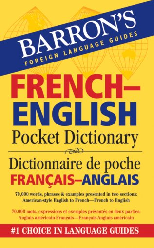 French-English Pocket Dictionary By Majka Dischler