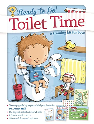 Toilet Time: A Training Kit for Boys (Ready to Go!) By Janet Hall