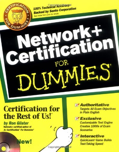 Network+ Certification For Dummies By Dummies Technology Press