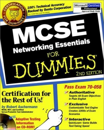 MCSE Networking Essentials For Dummies By Robert Aschermann