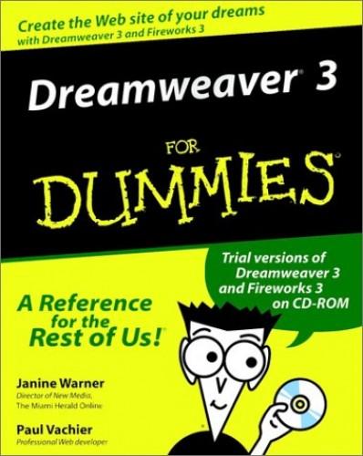 Dreamweaver 3 For Dummies By Janine Warner
