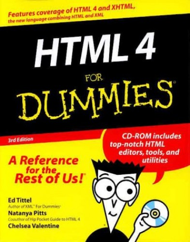 HTML 4 For Dummies By Ed Tittel