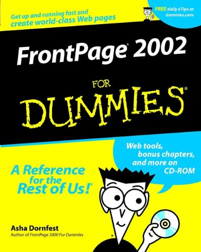 FrontPage 2002 For Dummies By Asha Dornfest