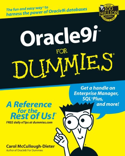Oracle 9i for Dummies By Carol McCullough-Dieter