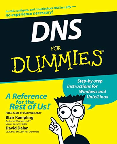DNS For Dummies By Blair Rampling