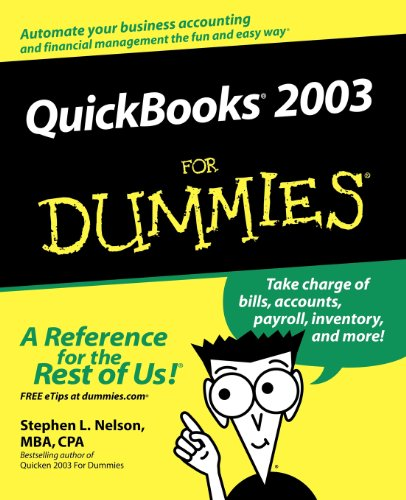 QuickBooks 2003  for Dummies By S. Nelson