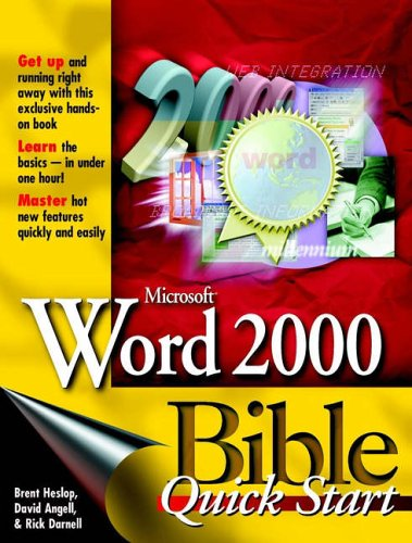 Word 2000 Bible By Brent Heslop