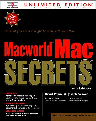 """Macworld"" Mac Secrets by David Pogue"