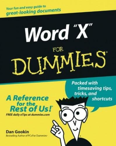 Word 2003 For Dummies by Dan Gookin
