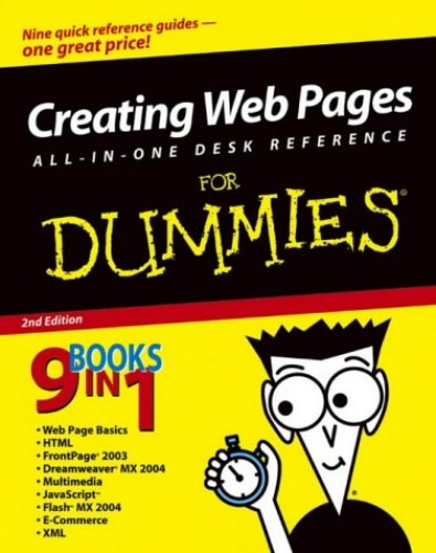Creating Web Pages All-in-One Desk Reference For Dummies by Emily A. Vander Veer