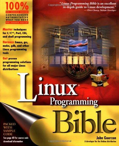 Linux Programming Bible By John Goerzen