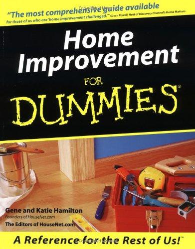 Home Improvement For Dummies By Gene Hamilton