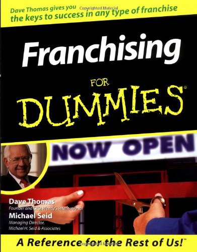 Franchising For Dummies By Dave Thomas