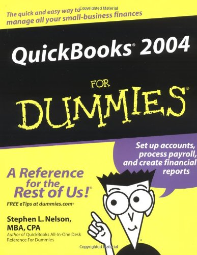 QuickBooks 2004 For Dummies By Stephen L. Nelson