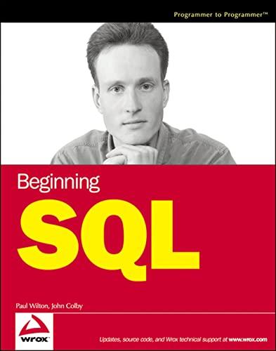 Beginning SQL By Paul Wilton
