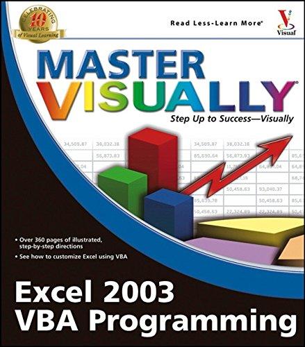 Master Visually Excel 2003 VBA Programming By Julia Kelly