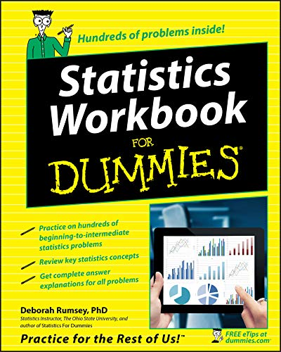 Statistics Workbook For Dummies By Deborah J. Rumsey