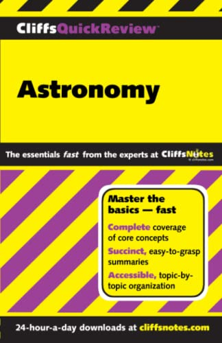CliffsQuickReview Astronomy By Charles Peterson