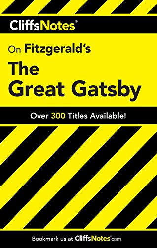 CliffsNotes on Fitzgerald's The Great Gatsby By Phillip Northman