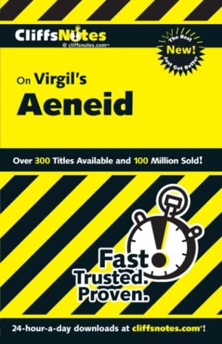 CliffsNotes on Virgil's Aeneid By Richard McDougall