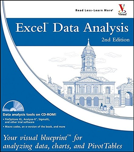 Excel Data Analysis: Your visual blueprint for analyzing data, charts, and PivotTables by Jinjer Simon (Professional Programmer)