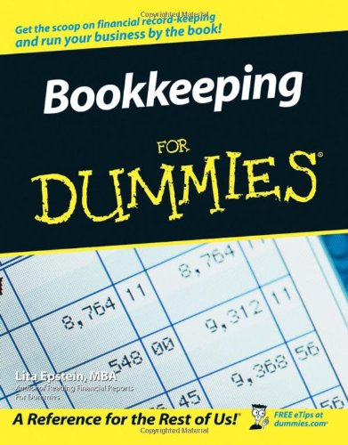 Bookkeeping For Dummies (US Edition) By Lita Epstein