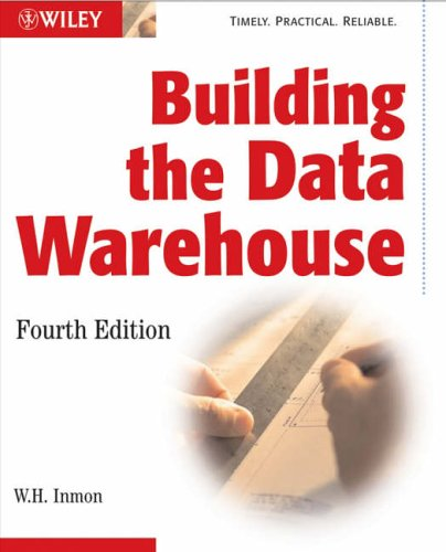 Building the Data Warehouse By W. H. Inmon