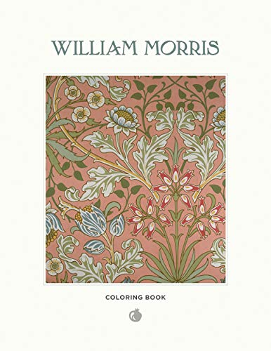 Willam Morris Colouring Book Cb103 By Illustrated by William Morris, MD