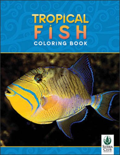 Tropical Fish Coloring Book SC5000 By Inc. Pomegranate Communications