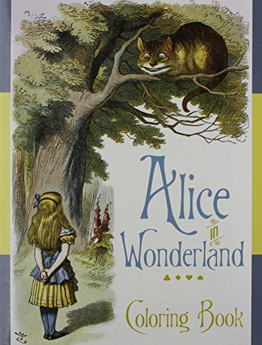 Alice in Wonderland Colouring Book By The British Library