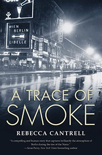 A Trace of Smoke (Hannah Vogel Novels), Cantrell, Rebecca Paperback Book The