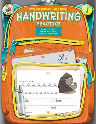 Handwriting Practice, Grade 1 By Frank Schaffer Publications