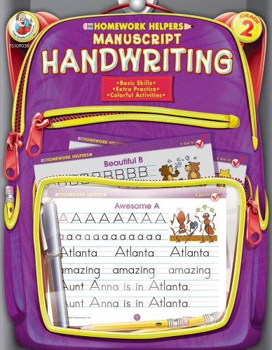 Manuscript Handwriting, Grade 2 By Compiled by Frank Schaffer Publications