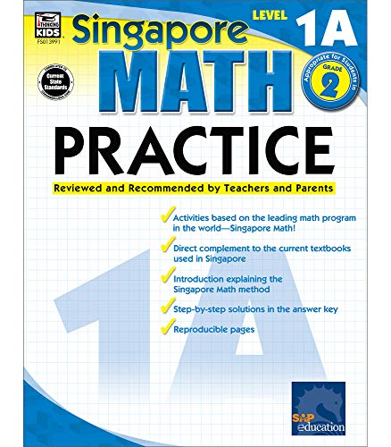 Math Practice, Grade 2 By Compiled by Singapore Asian Publishers
