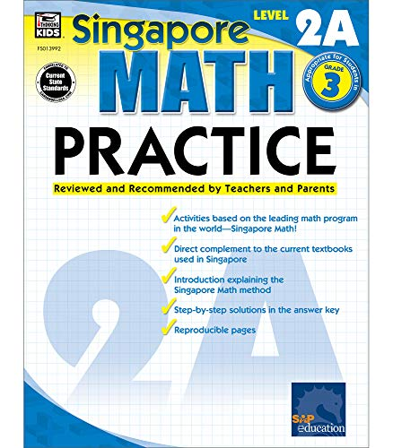 Math Practice, Grade 3: Reviewed and Recommended by Teachers and Parents (Singapore Math Practice) By Compiled by Singapore Asian Publishers