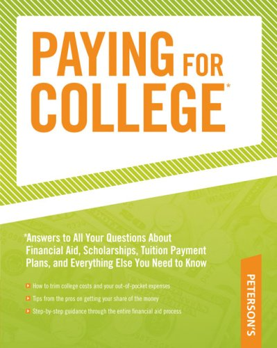 Paying for College By Del Franz