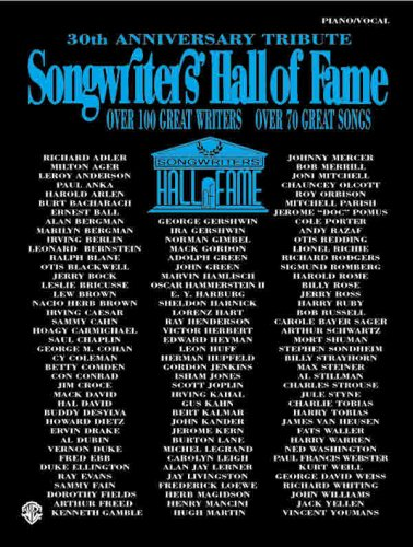Songwriters Hall of Fame By Other Alfred Music