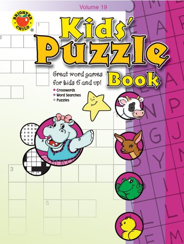 Kids' Puzzle Book, Grades 1 - 5 By Brighter Child