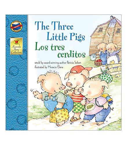 The Three Little Pigs/Los Tres Cerditos By Seibert, Patricia