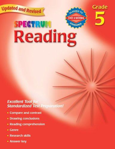 Reading, Grade 5 By Spectrum